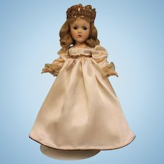 14 Inch Composition Wendy Face Sleeping Beauty Doll Madame Alexander 1937 taged