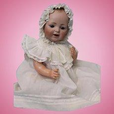 """16"""" Antique German Bisque Baby by JDK Kestner c.1900 signed JDK Made In Germany"""