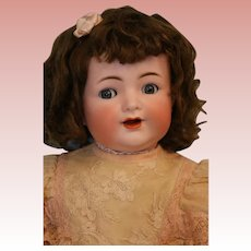 "Antique 21"" Kammer and Reinhardt Character 126 Flirty Eyes Simon and Halbig 1900"