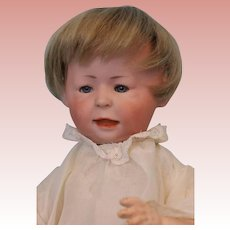 "11"" c1914 Simon and Halbig Doll #1428 Freddie Glass Eyed Character"