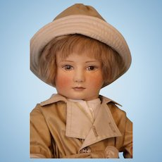 "18-inch American felt doll ""Christopher Robin"" By R.John Wright #196/500 No Box"