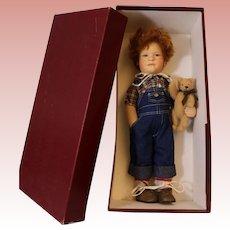 "18 Inch ""Patrick"" By R. John Wright #122/250 Mint in Box Rare Doll American Art"