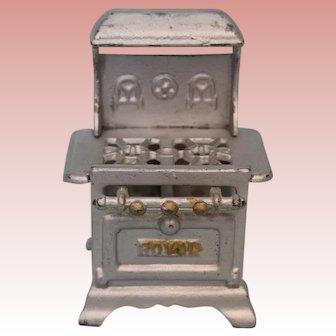 "4"" T X 3"" W 2.5"" deep Miniature Vintage ""Royal"" Cast Iron Stove for Dollhouse"
