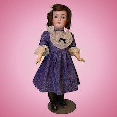 26-inch antique Kestner 171 German doll Blue sleep eyes Mohair wig Marked body