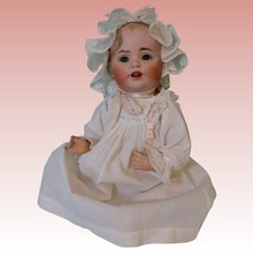 13-inch JDK Baby Jean Baby German Bisque Antique Doll Adorable!