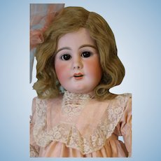 32-Inch 949 Simon and Halbig German Bisque Antique Doll c.1900 Character Open/M