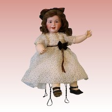 Antique 25 Inch SFBJ 236 Paris Laughing French Bisque Charater Doll c.1915