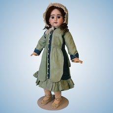 "22"" Antique Eitenne Denamur French Bisque Doll E 10 D Depose Simply Fabulous!"