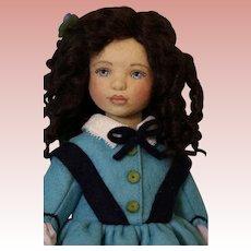 Maggie Iacono 12 Inch Josephine March Little Women Felt Artist Doll