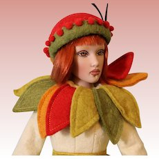 Helen Kish Spirit of the Seasons Autumn Limited Edition Artist Doll 16 Inch 2004