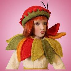 Helen Kish Spirit of the Seasons Autumn Limited Edition Artist Doll 16 Inch 2004
