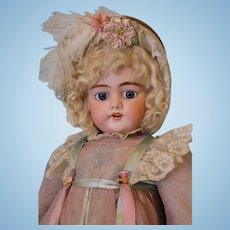 "24.5"" Simon and Halbig 1079 German Bisque Antique Doll in Cute Costume"