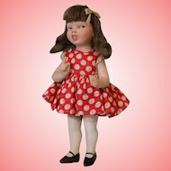 "5 Inch Jeanne Orsini ""Mimi"" Antique All Bisque Character Doll"
