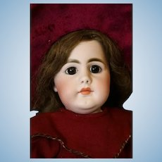 22 Inch Antique Simon and Halbig 949 Closed Mouth Doll Original Germany Body