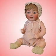 17 Inch Antique Kestner JDK 211 'Sammy' Character German Bisque Baby Doll
