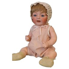17 Inch Antique Kestner JDK 211 'Sammy' Character German Bisque Baby Doll