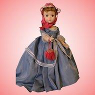 Vintage 18 inch Madame Alexander Me and My Shadow Victoria 1954 HP Walker Doll Original