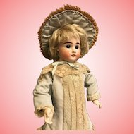 Antique 16 Inch Kestner Closed Mouth Doll Marked 3 Orig jointed body c.1885