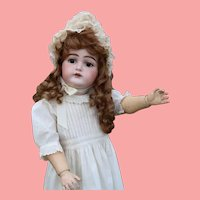 30 Inch Antique Kammer & Reinhardt K*R 192 Bisque Doll Great Large Size