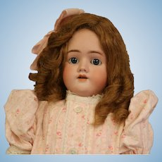 27 Inch Antique Handwerck Simon and Halbig Antique German Bisque Doll c.1900