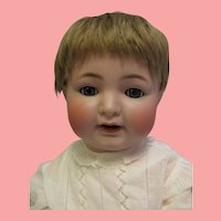 23 inch Early Character Baby Doll c1910 K star R SIMON  HALBIG  number 126 Original Wig
