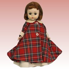 8 inch 1955 Wendy kins, Wendy at Bed Time, SLW Straight Leg Walker 3 seam wig Tagged
