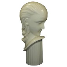 Rare ART DECO Lenox Female Head