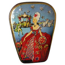 Vintage English CINDERELLA Toffee Tin