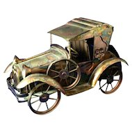 Vintage SANKYO Musical Wind up Jalopy Car- Plays Days of Wine and Roses