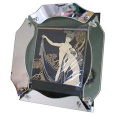 Vintage Syroco Gold Rococco Ornate Mirror 1966 Hollywood