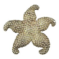 Vintage Taxco 925 Sterling Silver STARFISH Pin Brooch
