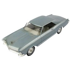Rare 1965 Buick Riviera Plastic Car Dealer Promo Gift