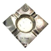 Vintage Sterling Silver Ashtray Bogota Columbia Dr. Dove