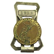 1958 TEAMSTERS Union Eastern Conference Money Clip