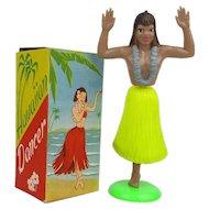 Vintage 1950s HAWAIIAN DANCER Hula Girl in Orig. Box