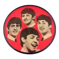Original Vintage 1964 I LIKE BEATLES Flicker Pin