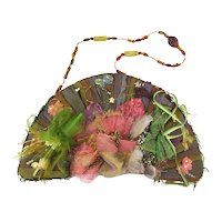 Original Retired Mary Frances Handbag Art Purse