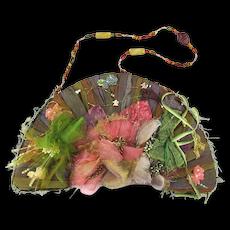 Original Retired Mary Frances Handbag Art Purse