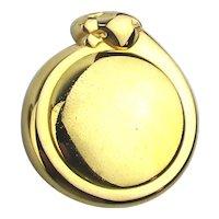 Vintage CARTIER DE PANTHERE Paris Solid Perfume Compact