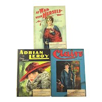 Victorian ALL STAR Series Pulp Romance Dime Novel Books