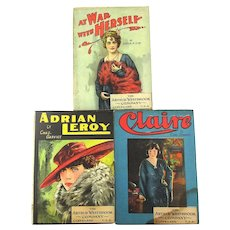 Victorian ALL STAR Series Pulp Romance Dime Novel Books