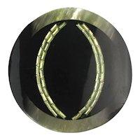 Super Judith Leiber Large Lucite Pin Brooch Pendant