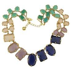 Kate Spade Glass Stone Multi Color Necklace