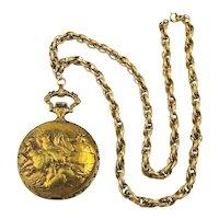 Arnex 17 Jewels Incabloc Swiss Pocket Watch