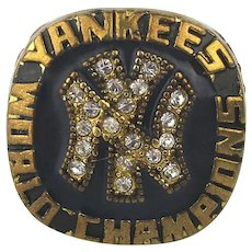 MLB 1977 New York Yankees World Series Championship Replica Fan Ring