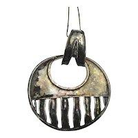 Vintage SILPADA Sterling Silver Modernist Necklace