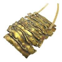 Mega Brutalist Buckle Necklace