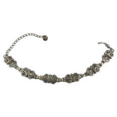 Art Deco Era HOLLYCRAFT Choker Necklace
