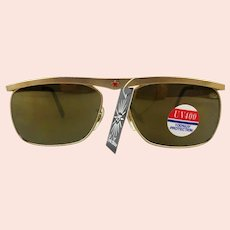 Vintage Linda Farrow of London Retro Sunglasses Unworn w/ Tag Women's