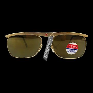 Vintage Linda Farrow of London Retro Sunglasses Unworn w/ Tag Women's